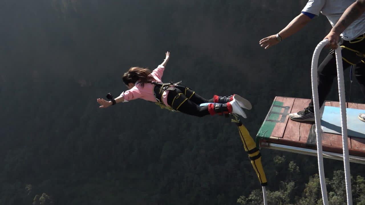 Kushma Bungee Jump