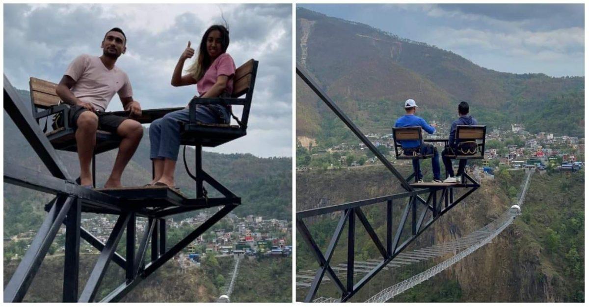 Sky Chairs in Kushma